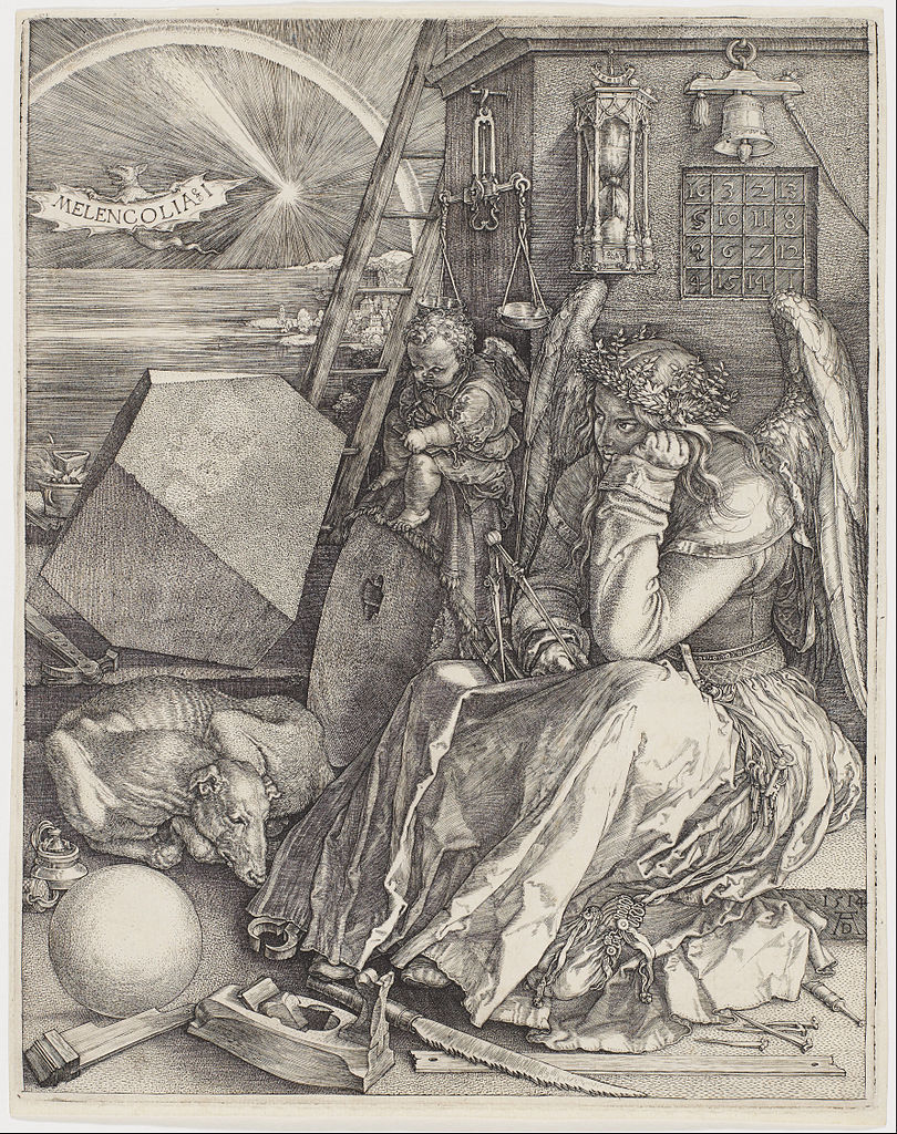 Melencolia I 1514 Albrecht Dürer